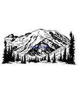 ROCKY MOUNTAINS-NEW RELEASE! mounted rubber stamp - $7.23