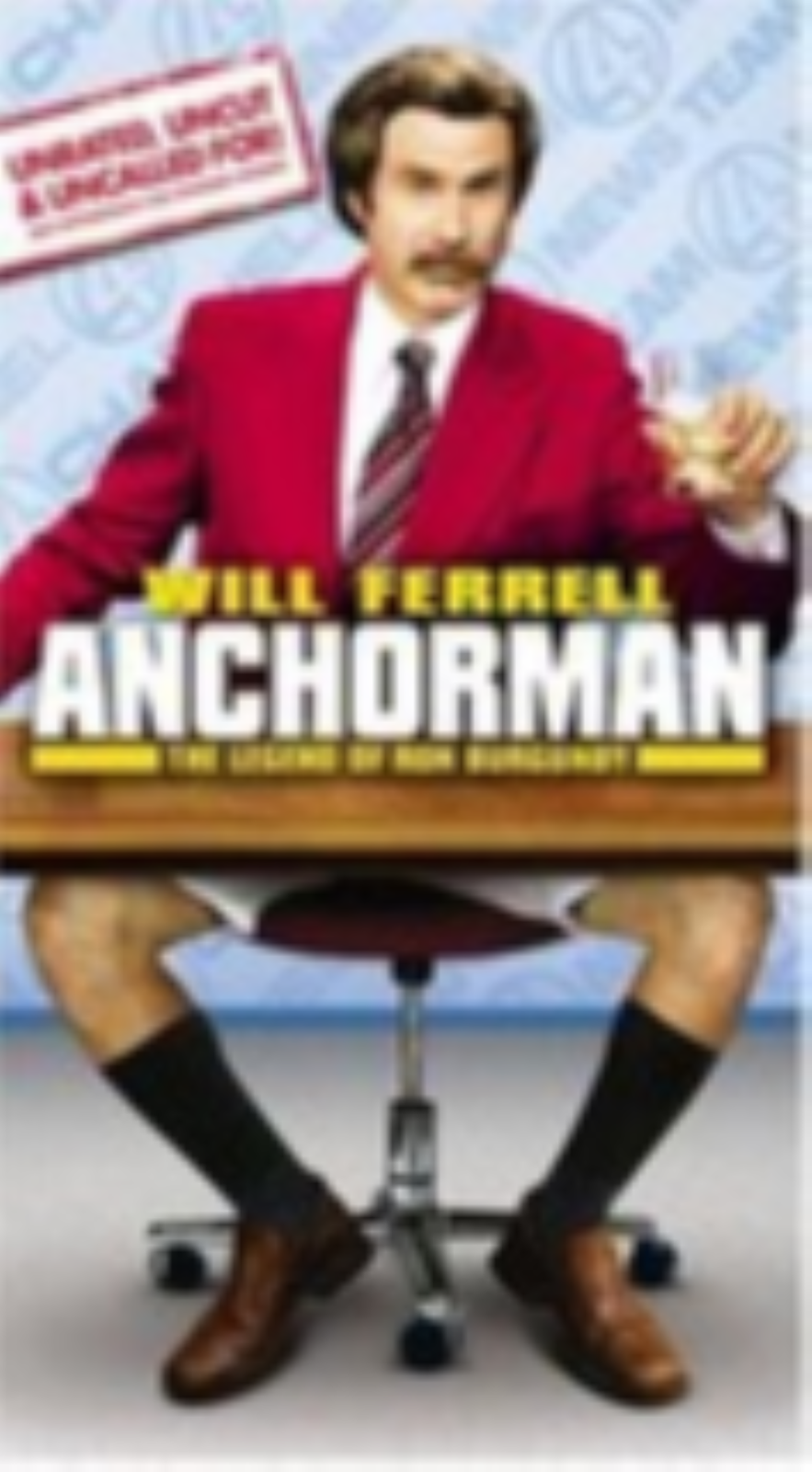Anchorman - The Legend of Ron Burgundy Vhs