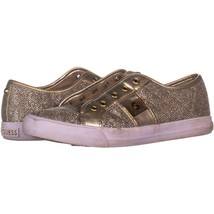 G by Guess Backer3 Fashion Sneakers 588, Gold, 8.5 US - $9.59