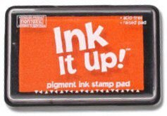 PUMPKIN INK IT UP RUBBER STAMP PAD-NEW, SEALED