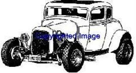 Original Chop Top Auto New Release Mounted Rubber Stamp - $9.00