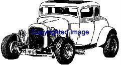 ORIGINAL CHOP TOP AUTO NEW RELEASE mounted rubber stamp