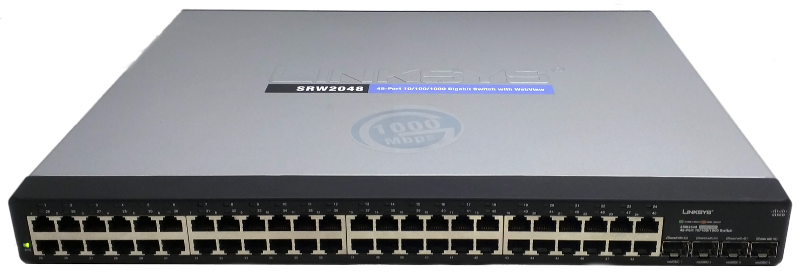Cisco srw2048 001
