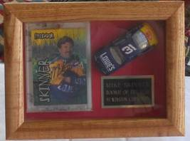 1997 MIKE SKINNER AUTOGRAPHED TRADING CARD & DIECAST CAR FRAMED IN DISPL... - $65.00