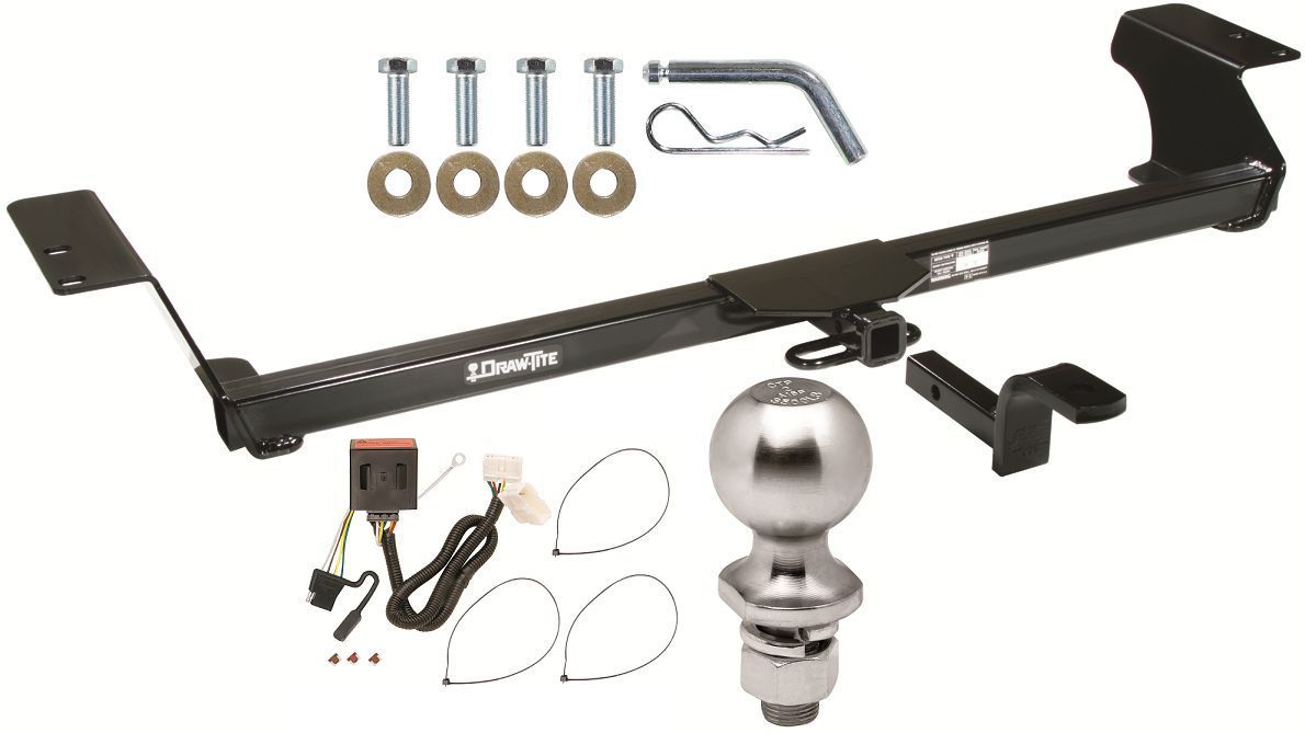 complete trailer hitch package w wiring kit fits 2011 2016 honda odyssey new towing hauling. Black Bedroom Furniture Sets. Home Design Ideas