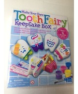 4M Tooth Fairy Keepsake Box 4564 Toysmith Make Your Own Kids Craft Memor... - $16.82