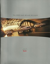 2000 Audi A6 sales brochure catalog 00 US 2.8 2.7T 4.2 quattro - $8.00