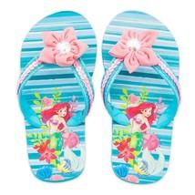 Toddler or Child Disney Store Ariel Flip Flops Size 7/8 9/10 11/12 13/1 2/3 - $12.99+