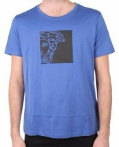 Versace Collection Girocollo Half Face Graphic Men's Tee NWT  image 1