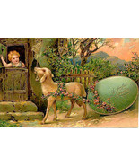 A Joyful Easter Paul Finkenrath of Berlin 1909 Post Card - $7.00