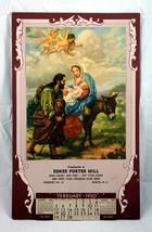 Vintage 1950 Calendar Hintermeister print Holy Family - $6.00