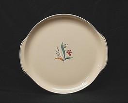 "Old Vintage Ballerina by Universal 13"" Cake Plate Serving Platter w Tab Handles - $29.69"