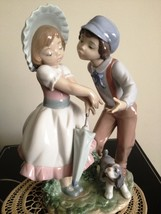Lladro A Kiss For a Flower # 6950 - Retired RARE - $849.00