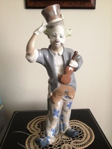 Lladro Clown with Violin # 1126 ~ Retired - $899.00