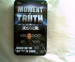 The Moment Of Truth-Party Game Based On the Hit... - $1.99