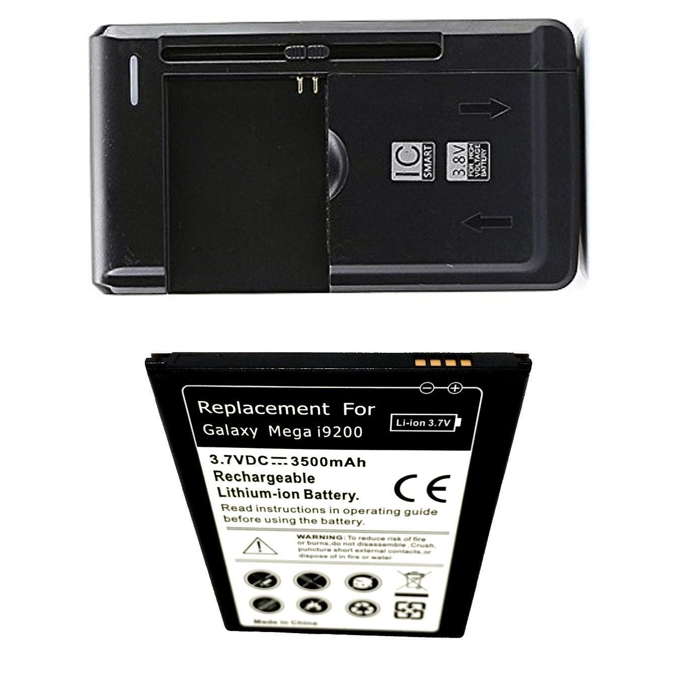 Samsung Galaxy Mega SCH-R960 US Cellular Battery + External Charger Travel House image 1