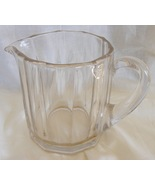 Heavy thick glass beer beverage vintage pitcher 1 quart - $29.95