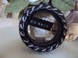 CC SKYE Woven Leather Janey Bangle  - $49.00