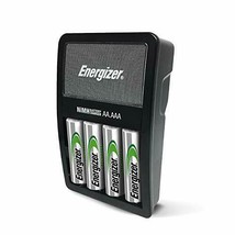 Rechargeable AA and AAA Battery Charger (Recharge Value) with 4 AA ... - $12.65
