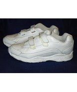 CrossTrekkers Size 13W White Walking Exercise Tennis Shoes - $25.99