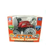 Thunder Tumbler Red Radio Control Remote 360 Rally Car LED Lights NEW bl... - $31.14