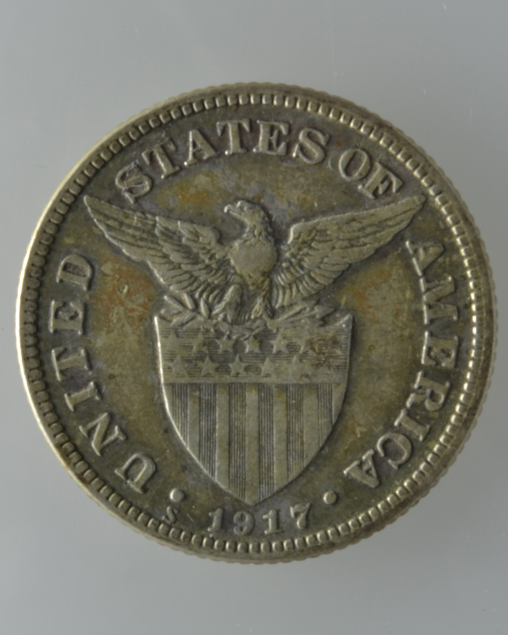 Coin Ph: U.S Philippines 1917s, 50 Centavos Silver Coin