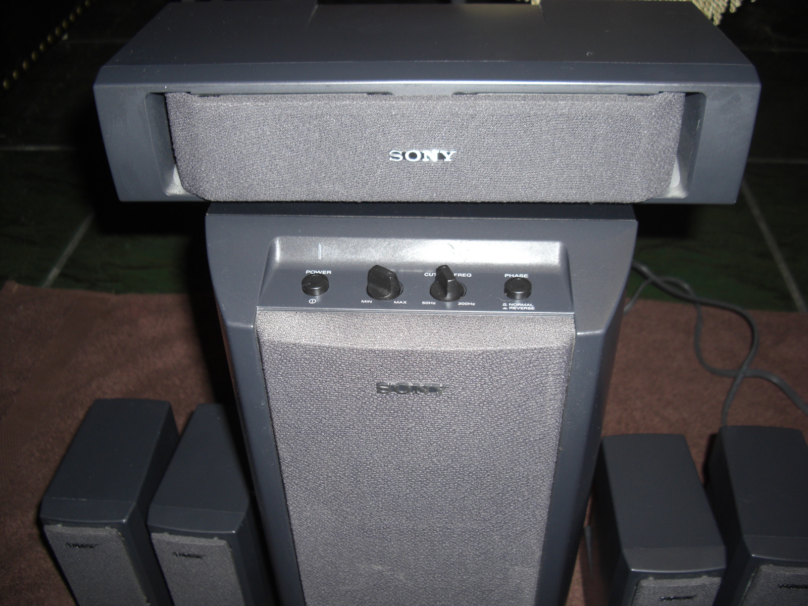 sony surround sound system 5 1 with sa w303 and 50 similar. Black Bedroom Furniture Sets. Home Design Ideas