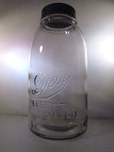 Drey perfect mason half gallon antique canning jar 01 thumb200