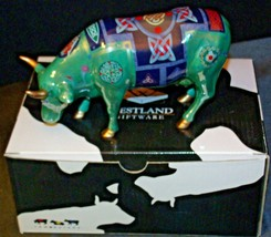 CowParade  Celtic Cow Westland Giftware # 7316 AA-191929  Vintage Collectible