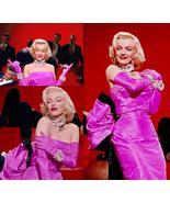 Marilyn Monroe Pink Dress Costume Marilyn Monroe Gown Costume for Women - $129.00