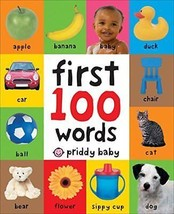 Toddler Learning Book First 100 Words Board Child Toy Early Education Br... - $5.46
