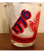 Hazel Atlas Sour Cream Glass  Bicentennial 1776-1976 Philadelphia Vintage - $11.99