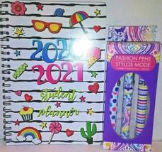 Student School Summer Fun Weekly Planner Calendar 2020-2021 & Fashion Pe... - $8.91
