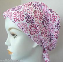 Cancer Awareness Ribbon Chemo Hairloss Womens Headwrap Scarf Turban Alop... - $16.95