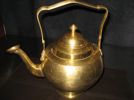 Vintage  Brass Footed Kettle - $45.00