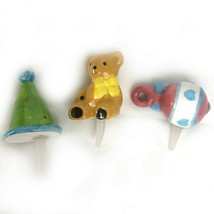 DEI 10638 3 of a Set of 4 Events Changeable Charmers Rattle Bear Party Hat - $18.37