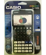 CASIO - FX-CG50-L-IH - PRIZM Color Graphing Calculator - $138.55
