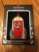 """Swarovski Crystal Holiday Ornament """"first Christmas In New Home 2017"""" Ships N24h - $48.49"""