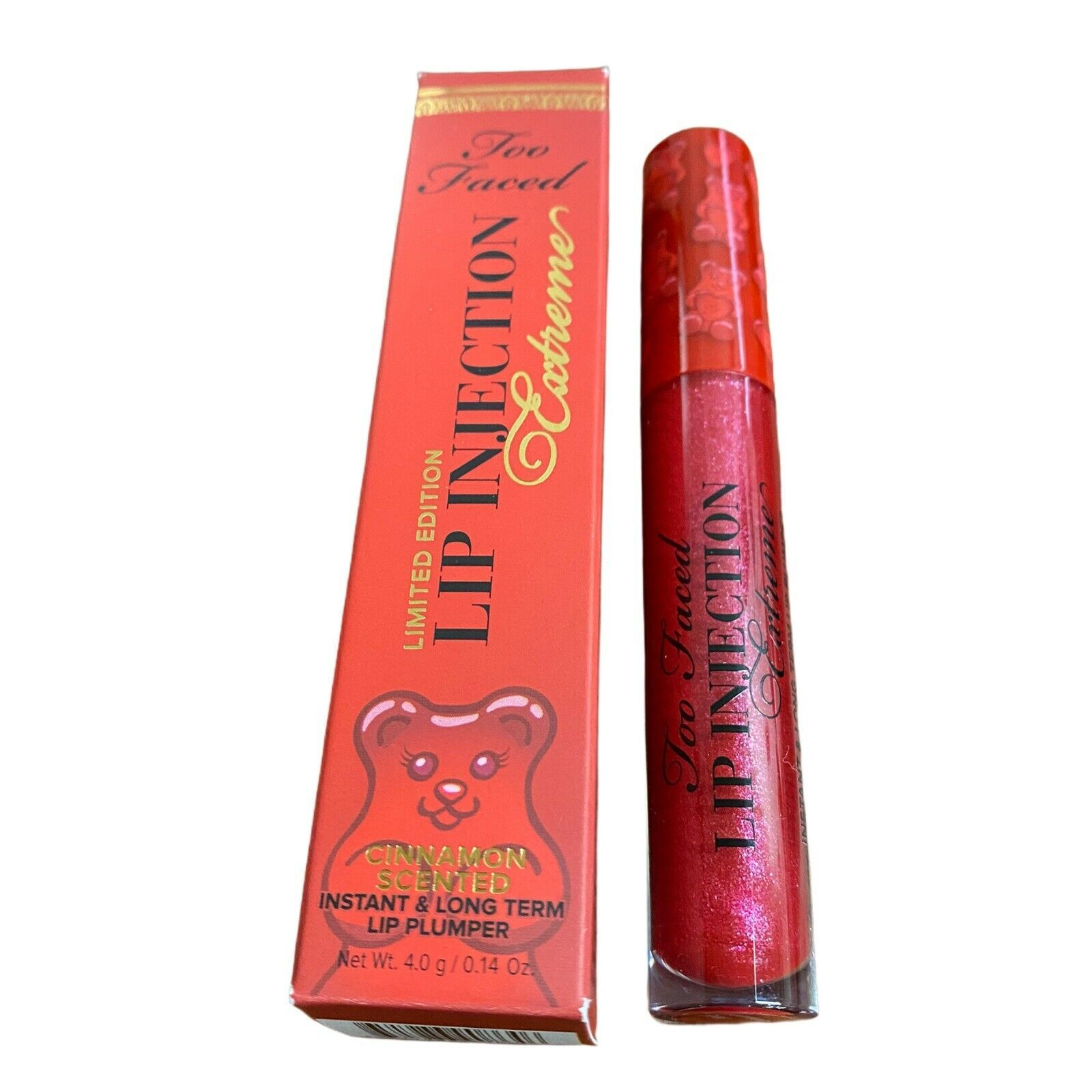 TOO FACED Lip Injection Extreme Cinnamon Bear Lip Plumper Gloss - $24.74