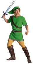 LICENSED WORLD OF NINTENDO THE LEGEND OF ZELDA LINK ADULT COSTUME SIZE X... - £21.28 GBP