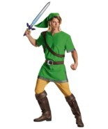 LICENSED WORLD OF NINTENDO THE LEGEND OF ZELDA LINK ADULT COSTUME SIZE X... - $27.69