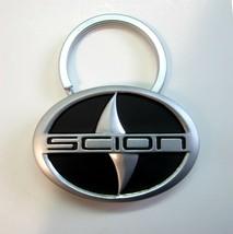 Toyota SCION Logo - What Moves You - Silver tone Metal Promo Key Chain K... - $7.99