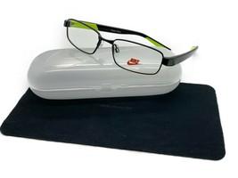 NIKE Eyeglasses 5572 010 Satin Black 49MM - $58.17