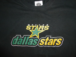 Dallas Stars Black Adult L T Shirt Shirt Nice Free Us Shipping - $23.90