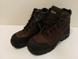 "Reebok RB7755 Men's Trainex 6"" Sport Boot Dark Brown Comp 5.5 M - $93.06"
