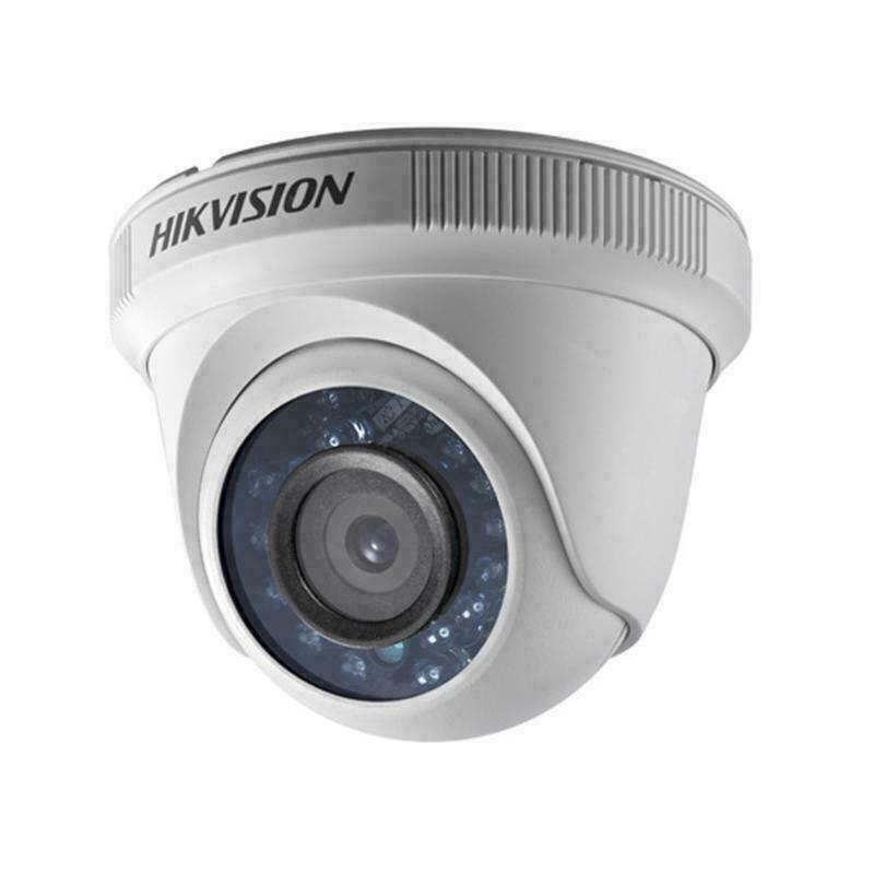 Hikvision DS-2CE56D0T-IRF 2MP 2.8mm 1080P IR Turret Camera IP66 TVI/AHD/CVI/CVBS