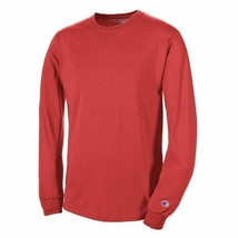 Champion Men's Long Sleeve Crewneck T-Shirt - 6 COLORS - S-2XL - $16.14