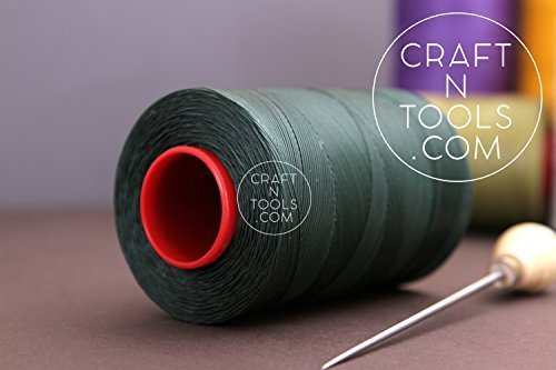 0.6mm Green Ritza 25 Tiger Waxed Polyester Thread 25 - 1000m length (125m). Juli - $29.69