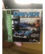 Driver (Sony PlayStation 1, 1999) COMPLETE CIB GREEN LABEL - $18.69