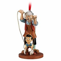 Disney Pinocchio and Geppetto Sketchbook Ornament - $73.94
